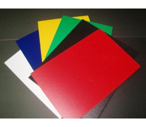 红色PVC彩板